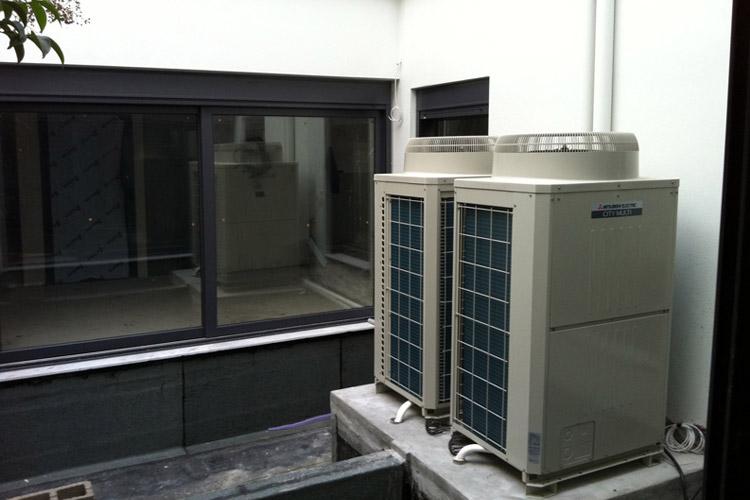 Αντλία Θερμότητος σε κατοικία στο Χαλάνδρι