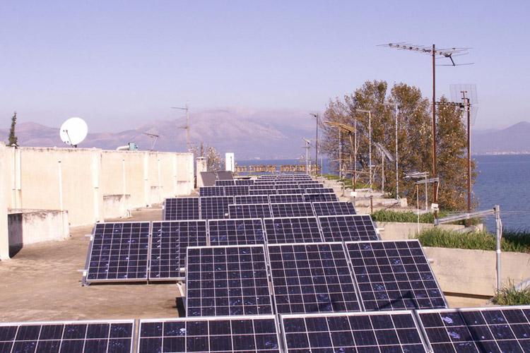 Εγκατάσταση φωτοβολταϊκών σε δώμα, περιοχή Ωρωπός
